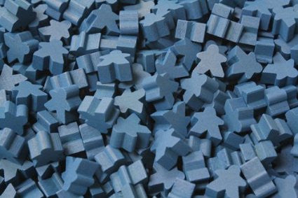 Blue Standard Meeple (16mm)