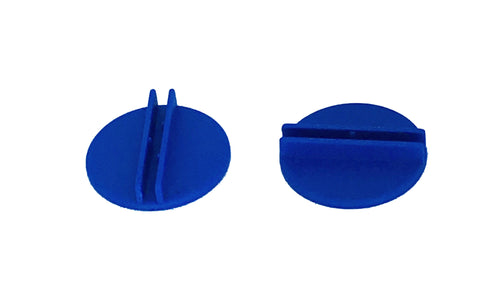 20 x blue 25mm D card stands
