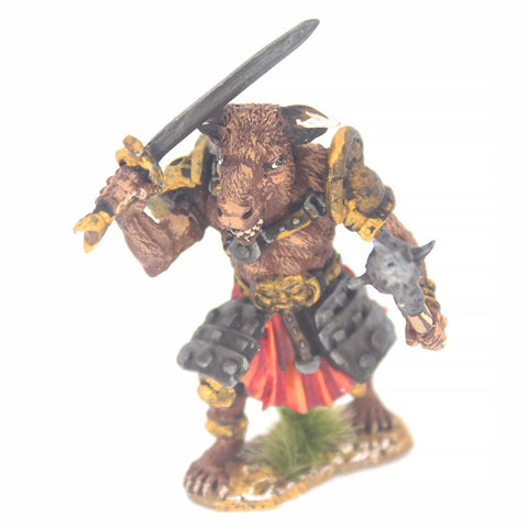 Minotaur with Sword and Mace (FAM001)