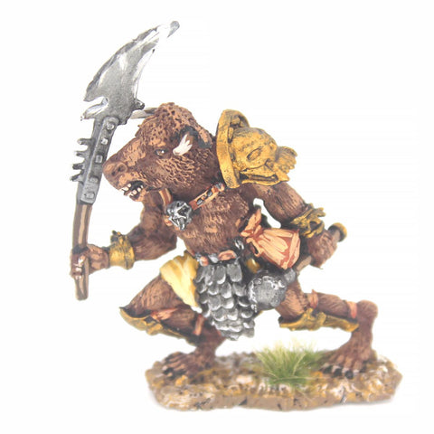 Minotaur with Halberd (FAM004)