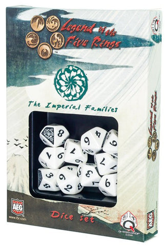 L5R IMPERIAL FAMILIES DICE SET (10)