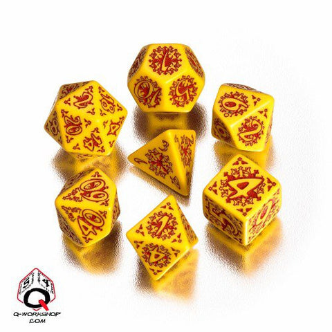Legacy Of Fire Dice Set (7)