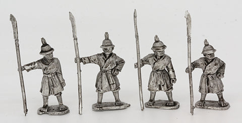 Light Spearmen Standing (4 figures) (MIN1004)