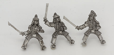 Cavalry With Swords (3 figures) (MIN1009)
