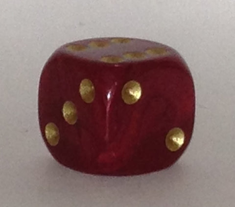 16mm red pearl