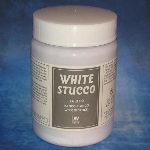 Stone Effects White Stucco 200ml (26210)