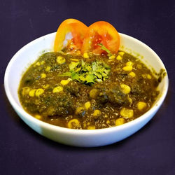 Spinach corn saag