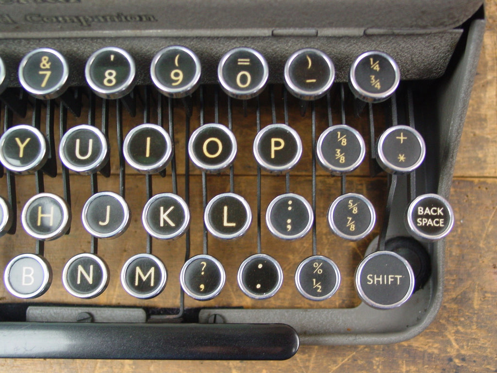 Typewriter, Imperial 1954 - Good Companion No 1