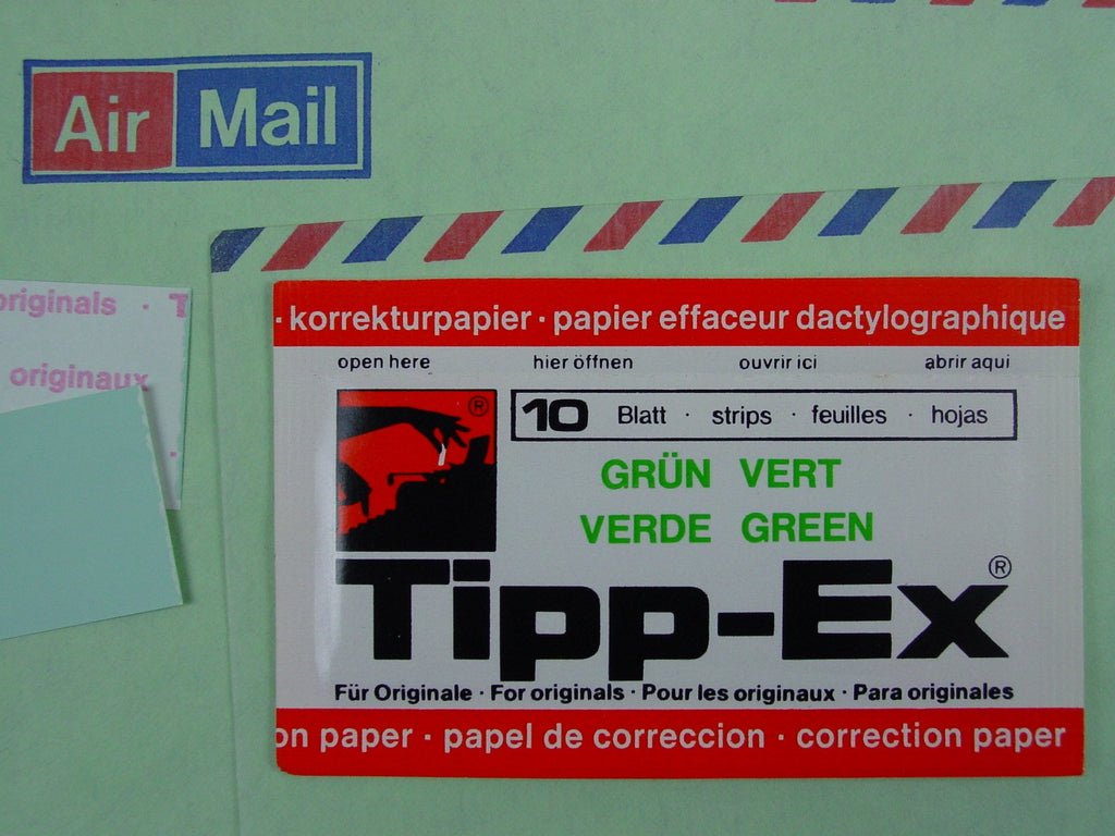 Tippex Correction Paper - Green