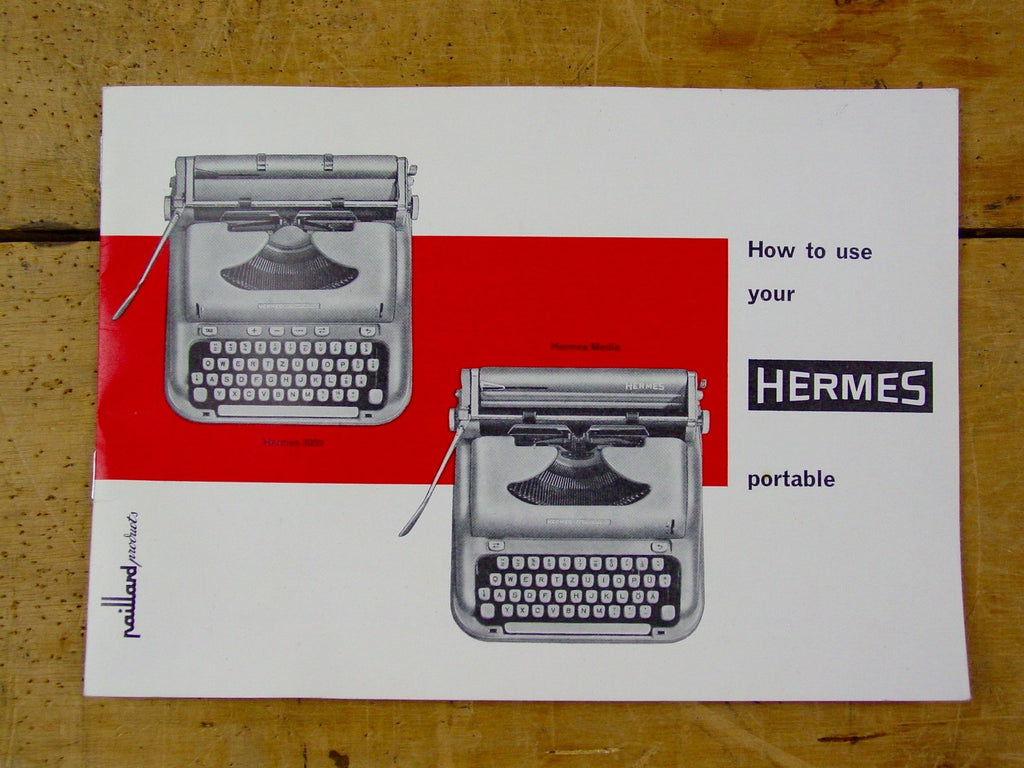 Typewriter, 1962 Hermes Media 3
