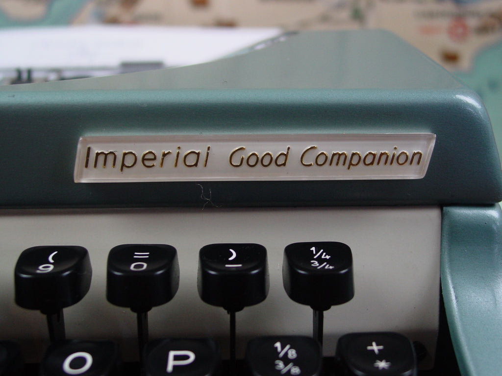 Typewriter , Imperial  1962  - The Good Companion 6