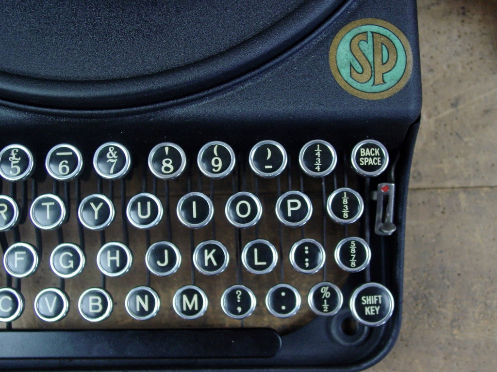 Typewriter , 1928  Smith Premier Portable