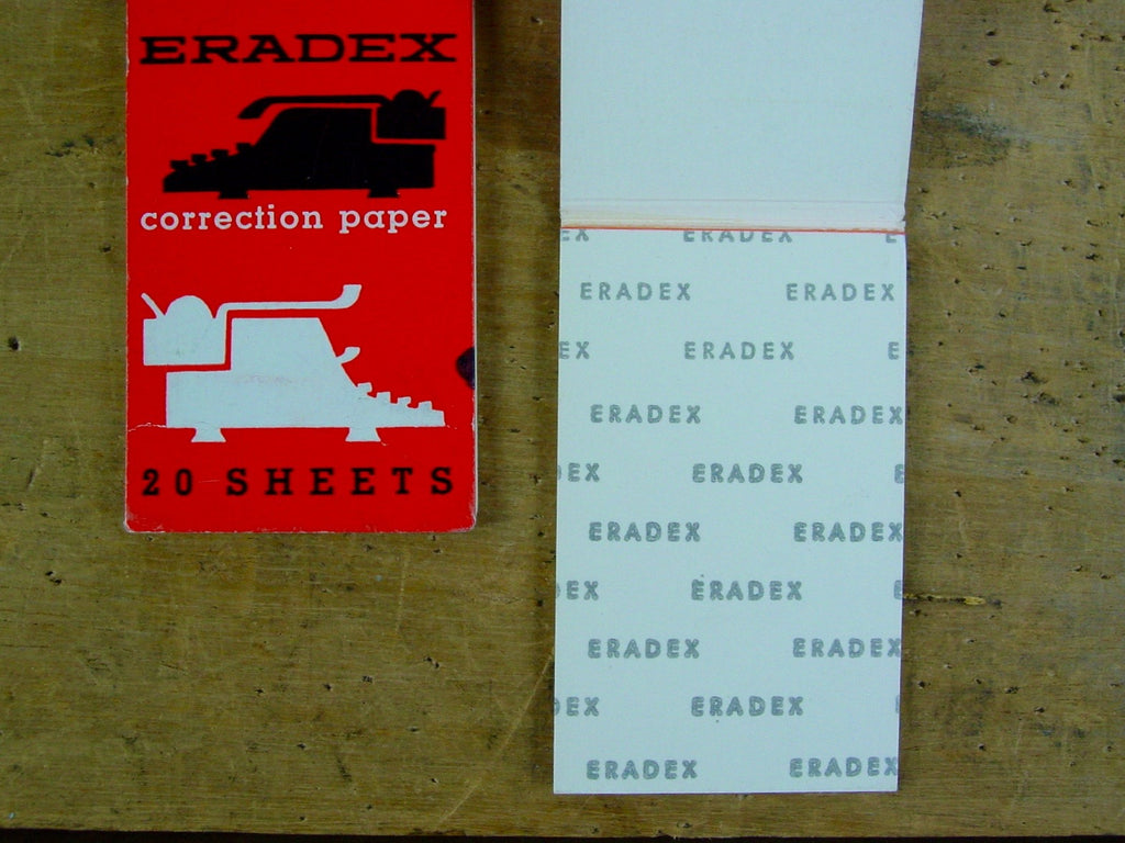 Eradex Correction Paper -White