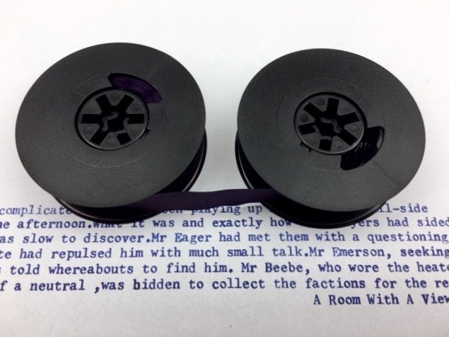 New Plain Navy Blue Universal Typewriter Ribbon