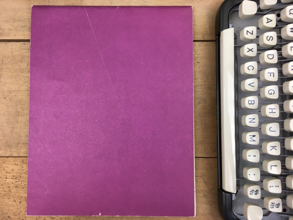 A Practical Course in Touch Typewriting Booklet
