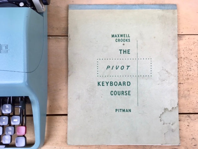 Vintage Typewriter Course Booklet from Charlie Foxtrot Vintage