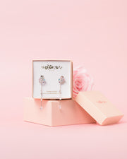 Star Studded Earrings Bouquet - Blush Pink