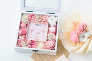 Te Amo Floral Jewellery Box | Sweet Pink