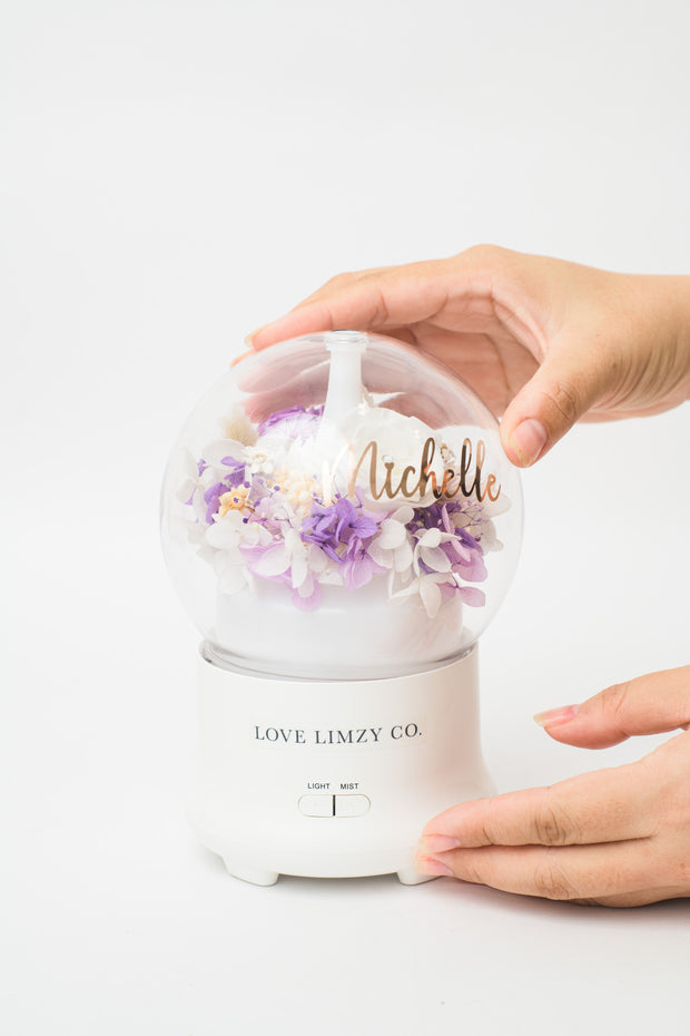 Misty Garden Aroma Diffuser - Blush Pink for Mom