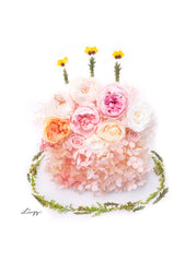 Digital Artprint-Birthday Cake-Love Limzy Co.