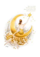 Digital Artprint-Moon & Stars-Love Limzy Co.
