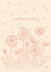 Greeting Card-Monotone Congrats-Love Limzy Co.-Love Limzy Co.