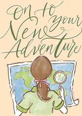Greeting Card-On To Your New Adventure-Love Limzy Co.