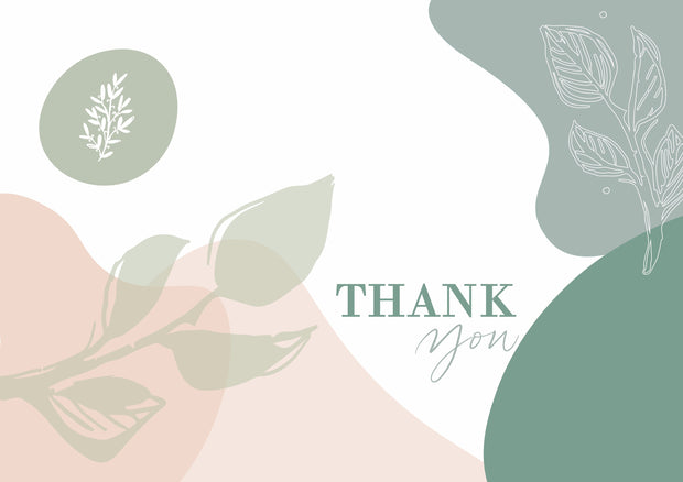 Greeting Card-Palette Thank You-Love Limzy Co.