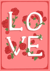 Greeting Card-Rosemary Love-Love Limzy Co.-Love Limzy Co.