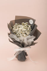 Preserved Dried Flower Bouquet-Charming Ixodia - Grey-Love Limzy Co.