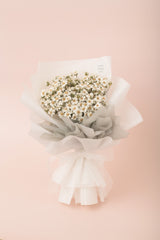Preserved Dried Flower Bouquet-Charming Ixodia - White Silver-Love Limzy Co.