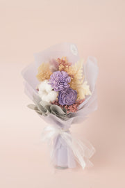 Preserved Dried Flower Bouquet-Endearing Sola - Lavender-Love Limzy Co.