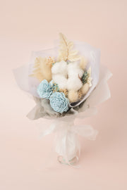 Preserved Dried Flower Bouquet-Endearing Sola - Sea Blue-Love Limzy Co.-Love Limzy Co.