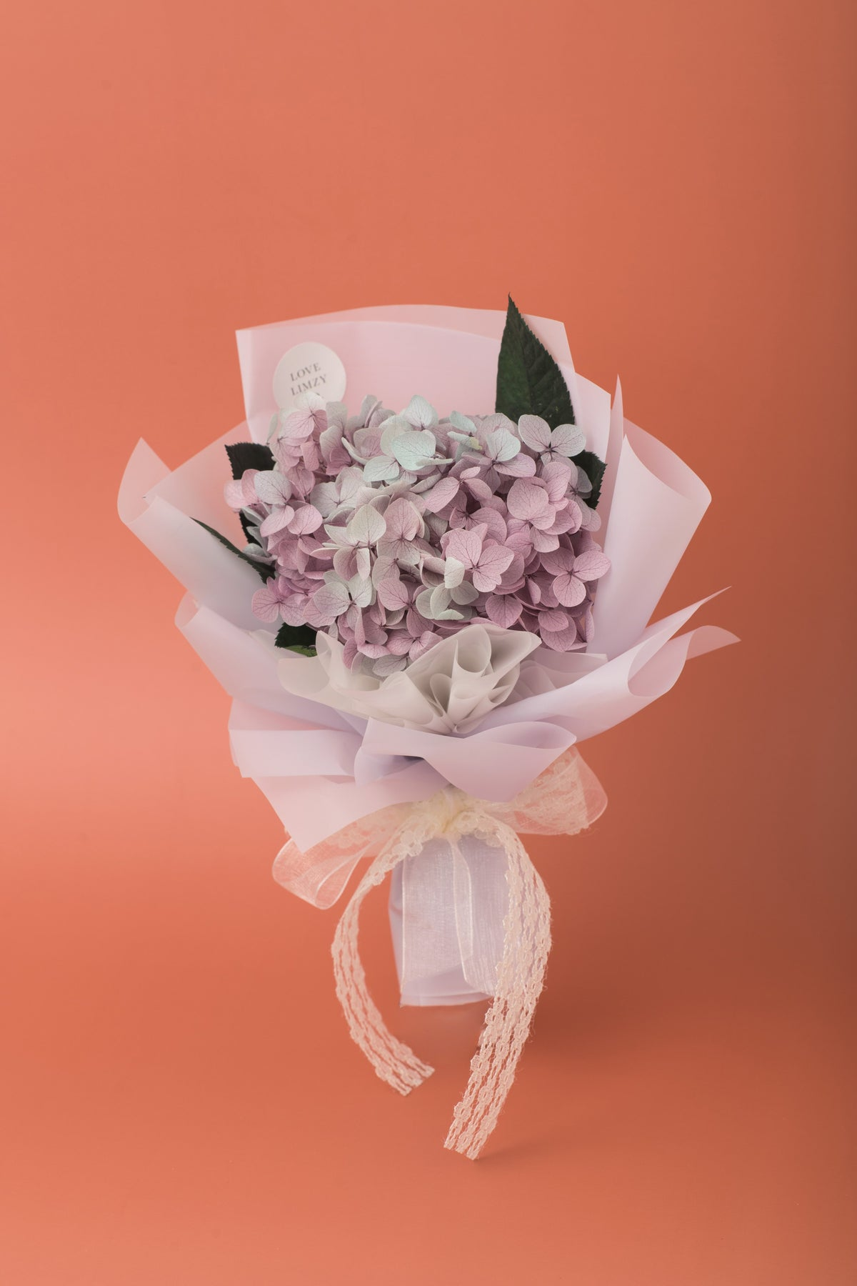 Preserved Hydrangea Bouquet Dusty Lavender Love Limzy Co