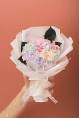 Preserved Dried Flower Bouquet-Hydrangea - Pastel Dream-Love Limzy Co.