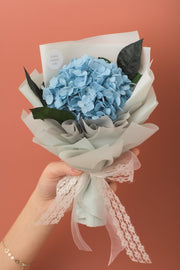 Preserved Dried Flower Bouquet-Hydrangea - Sky Blue-Love Limzy Co.