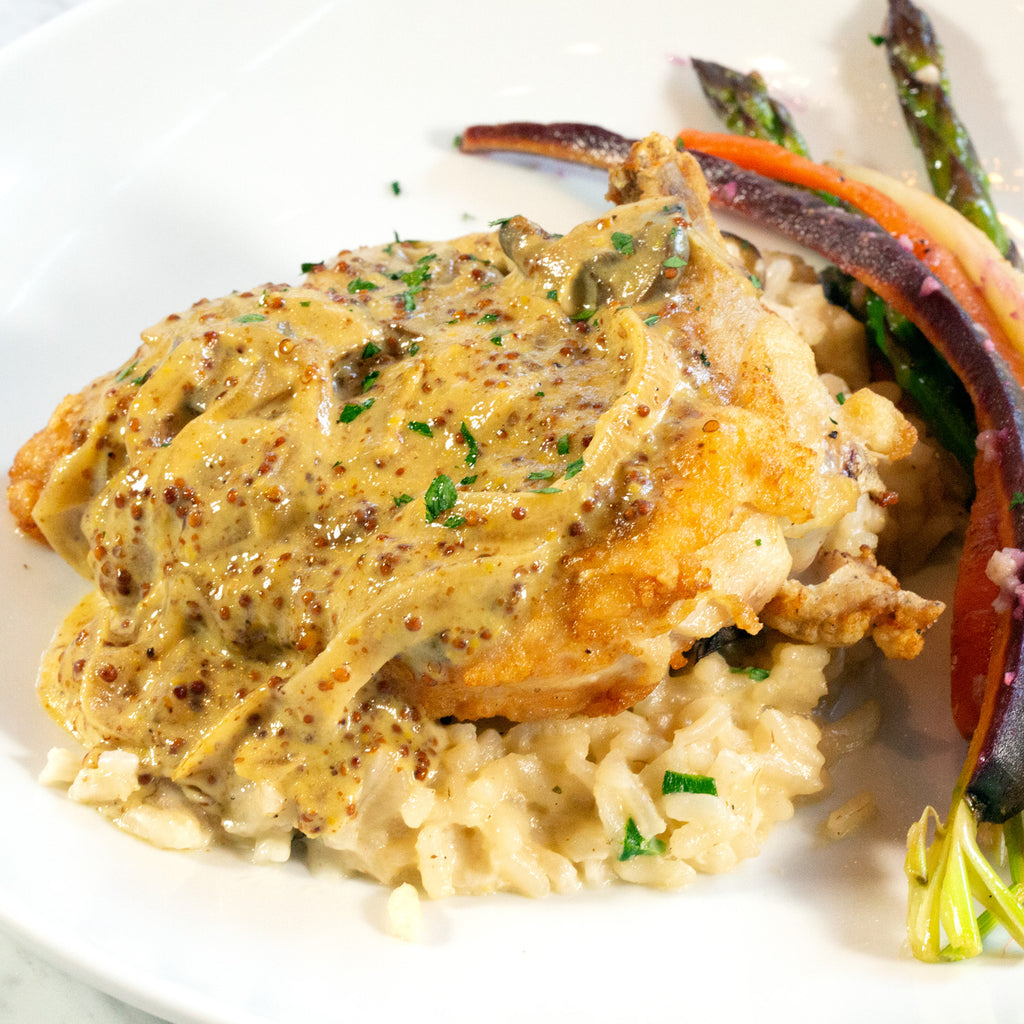 Chicken Dijon, French Hen