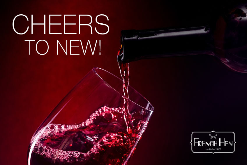 Cheers to New!