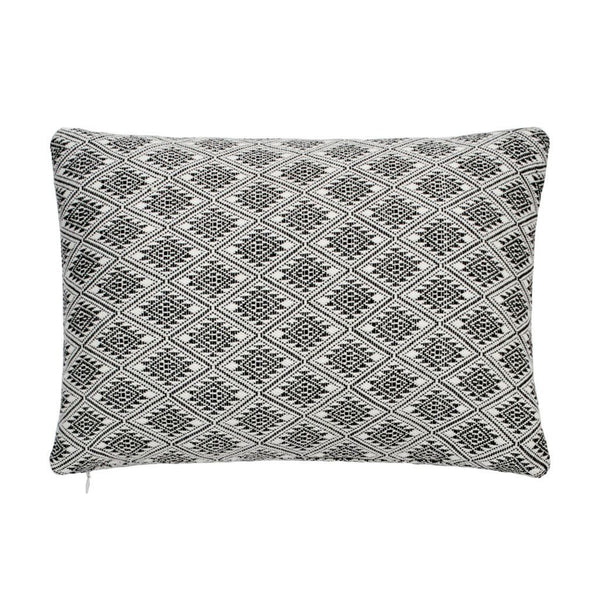 Abstract Aztec Diamond Decorative Pillow