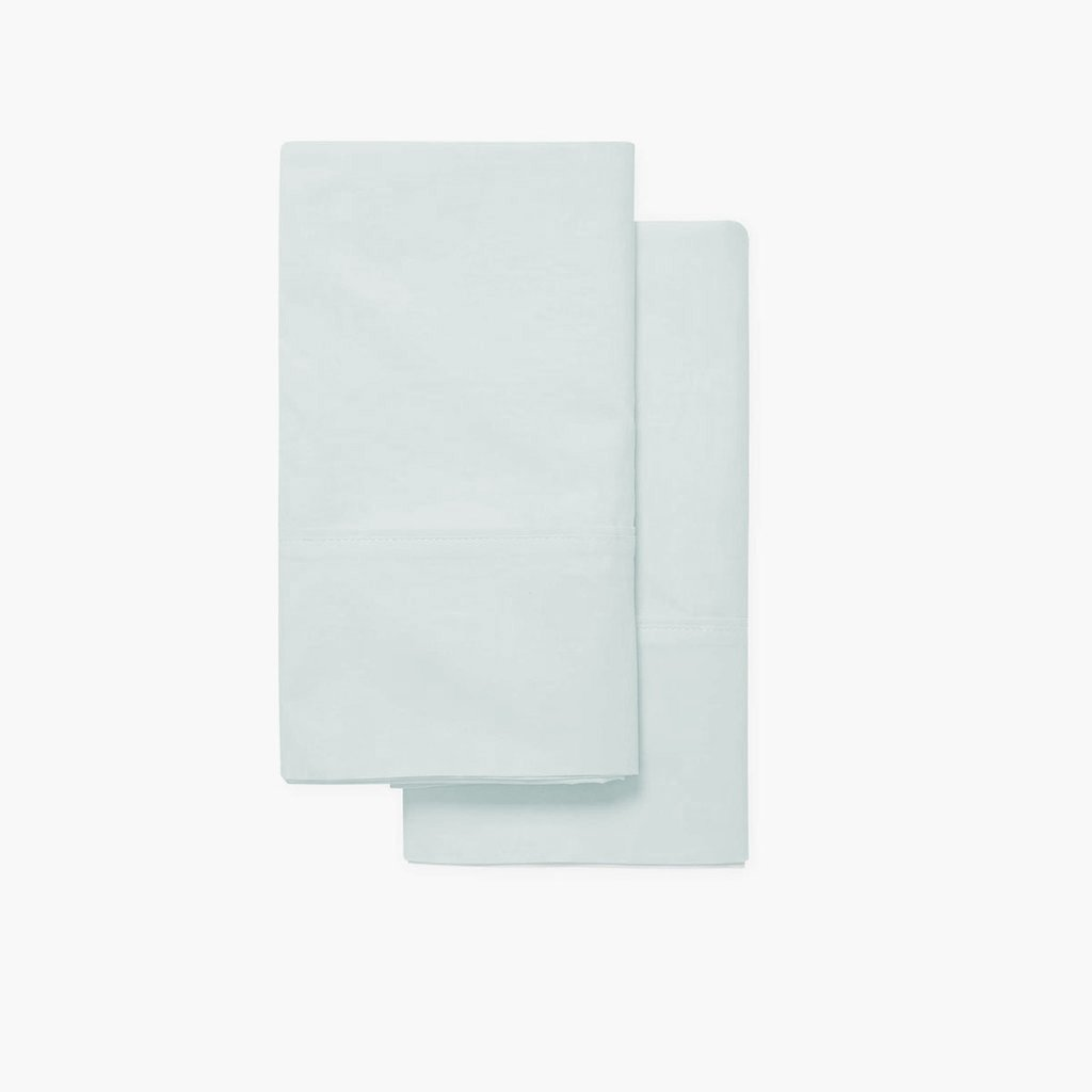USDA Certified Organic Cotton Sateen Pillowcase Pair