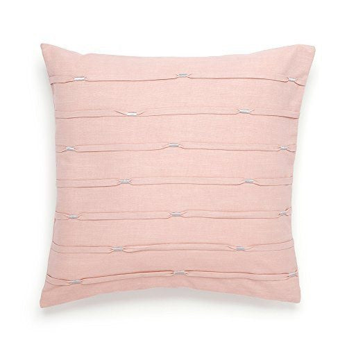 Pink Pleat Decorative Pillow