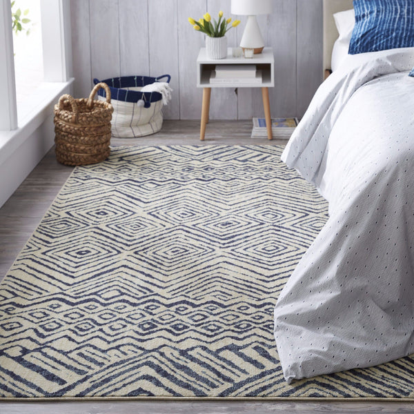 Mnemba Area Rug in Indigo
