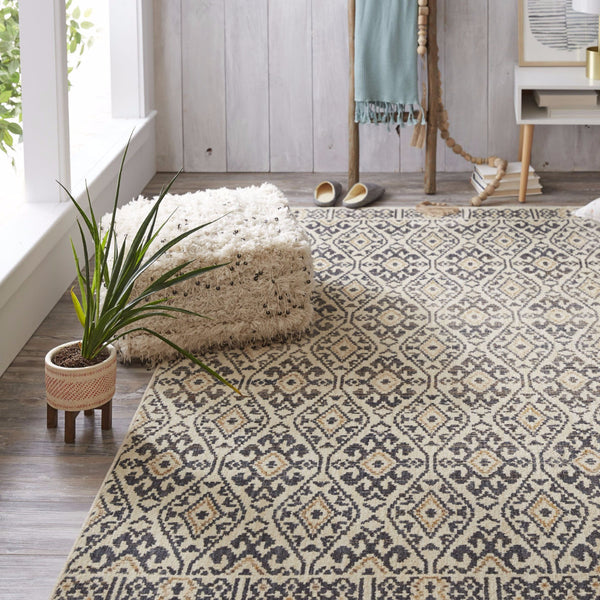 Aloma Area Rug in Denim Blue