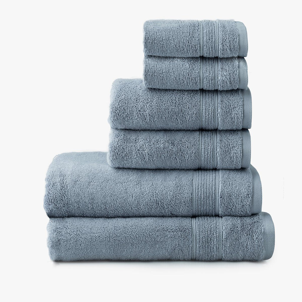 Organic Cotton 6-Piece Towel Set