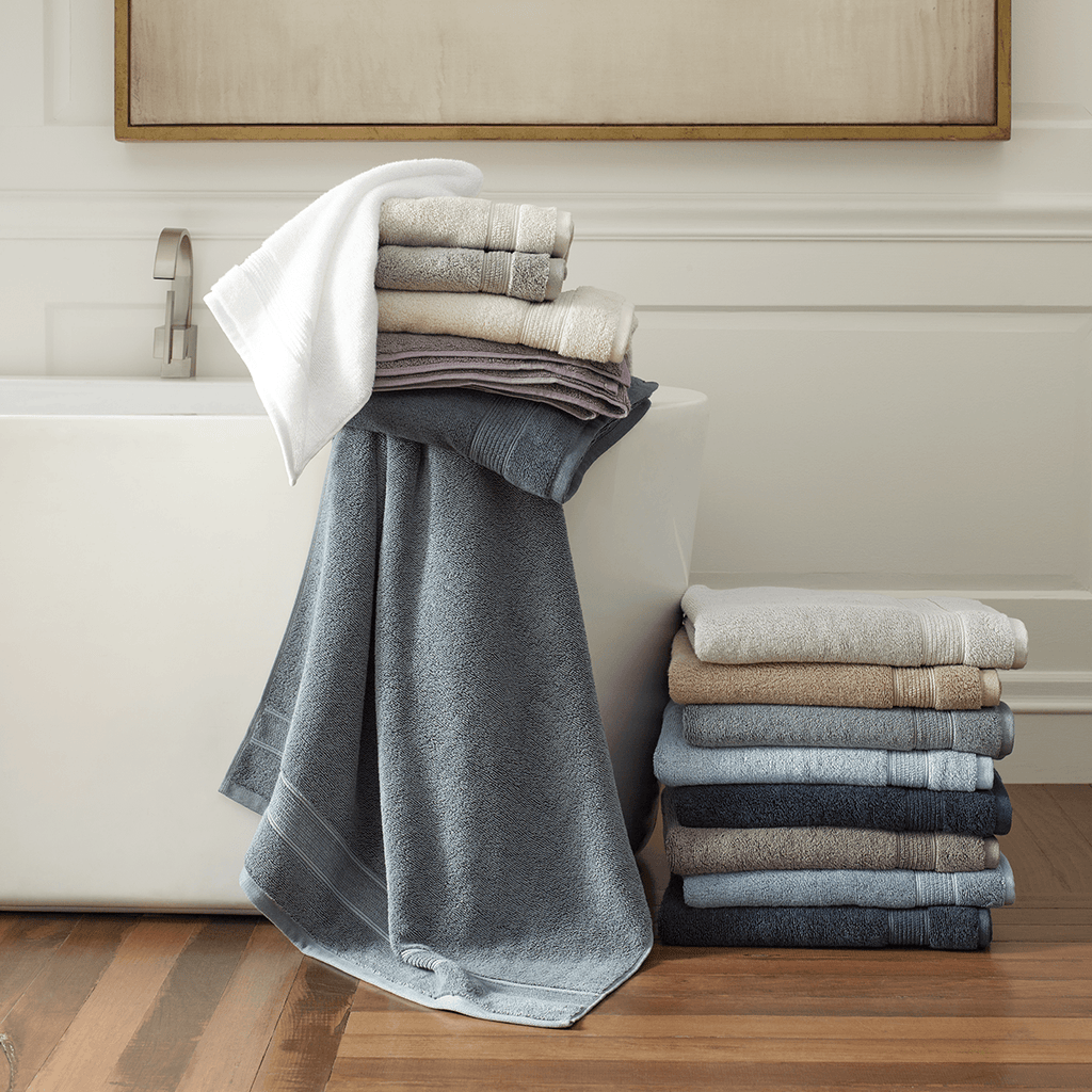 Organic Cotton 4-Piece Bath Towel Set