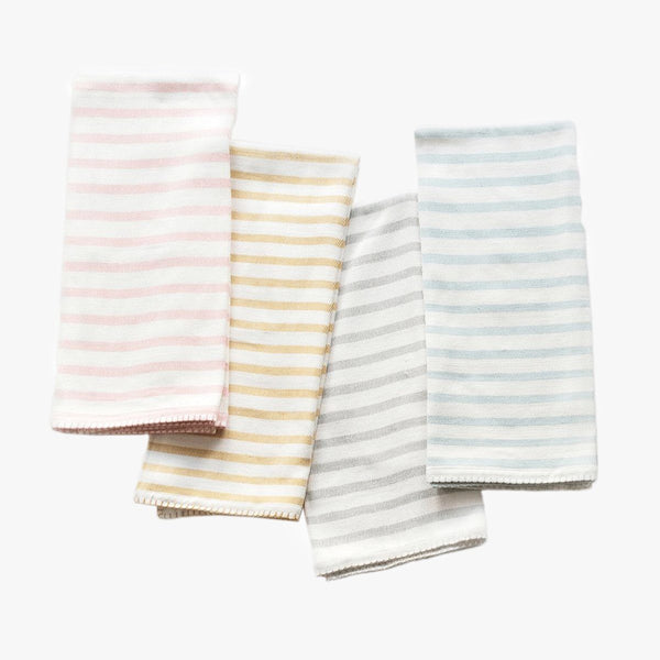 Organic Cotton Stripe Baby Blanket