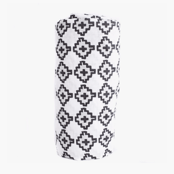 Lincoln Swaddle Blanket in Organic Cotton Muslin