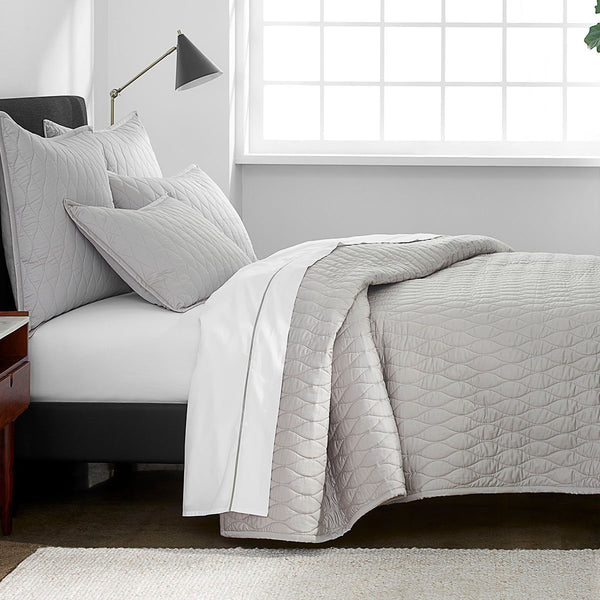 Organic Quilted Coverlet