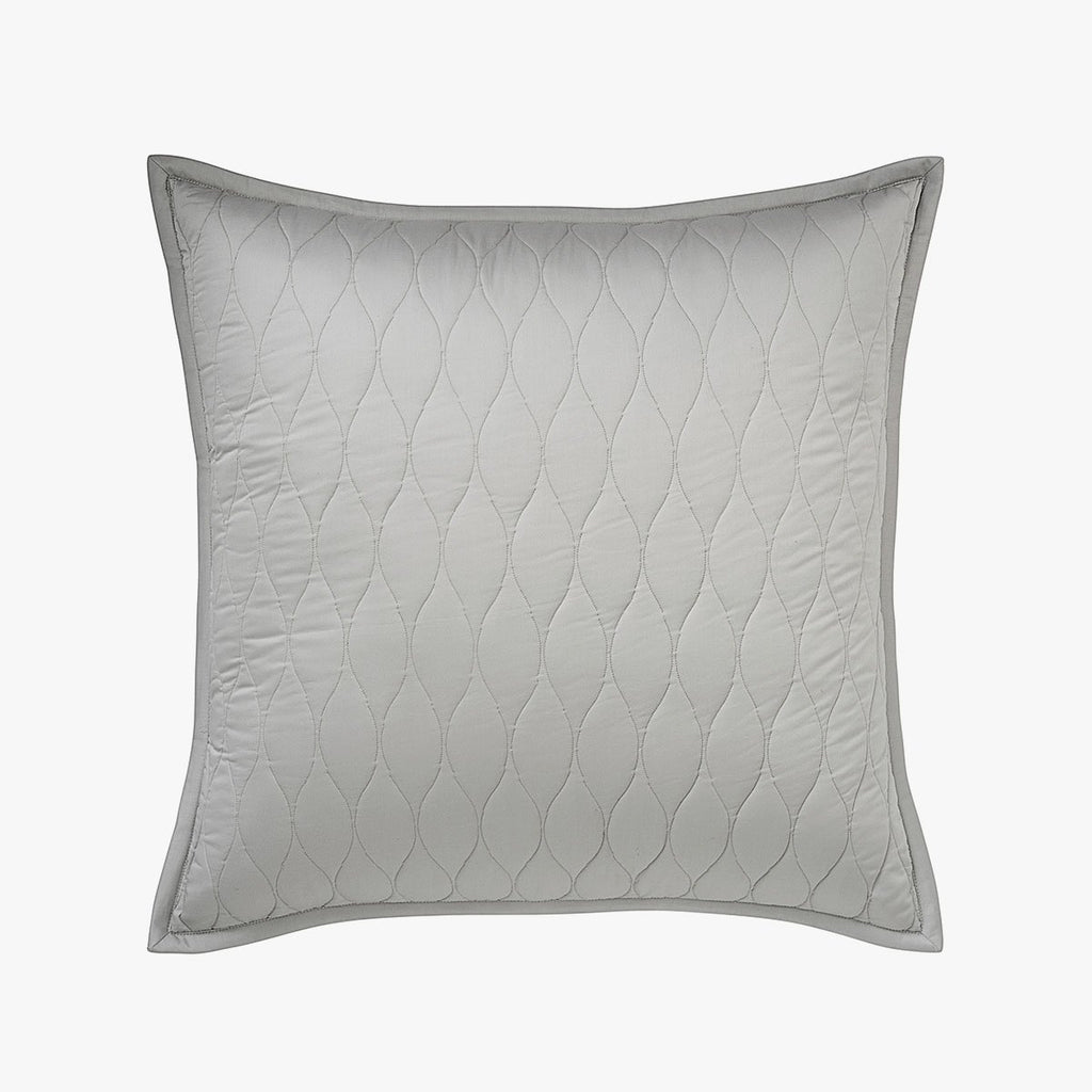 Organic Quilted Euro Sham