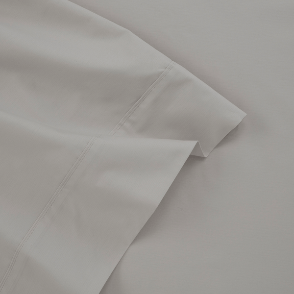 300 Thread Count Organic Cotton Percale Pillowcase Pair Set (Solid)